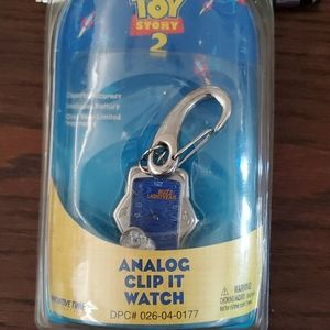 COLLECTABLE TOY STORY 2 CLIP WATCH